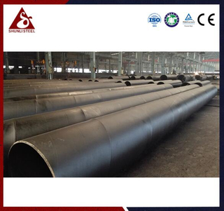 Anchored Waterproof Steel SSAW / SAWH Pipe Pile